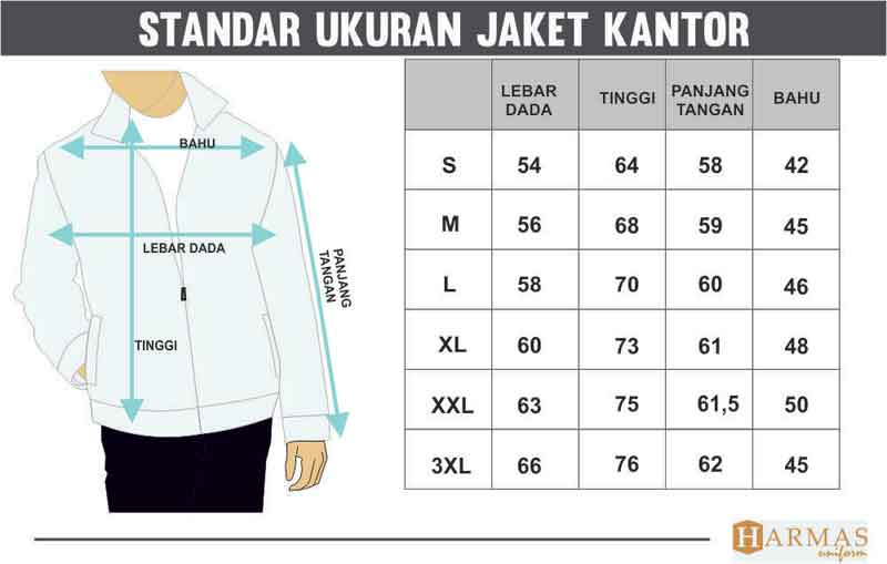 Standar Ukuran Pabrik Seragam Konveksi Bandung